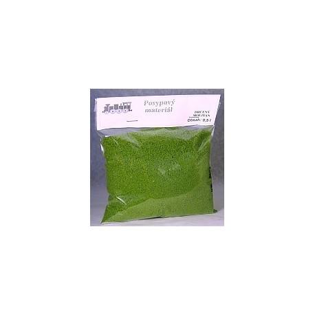 posyp - drcený molitan jemný -obsah 0.5l