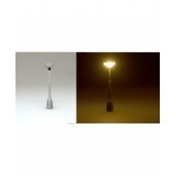 lampička parková HO - šedá