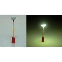 lampička parková TT ( červená/žlutá)