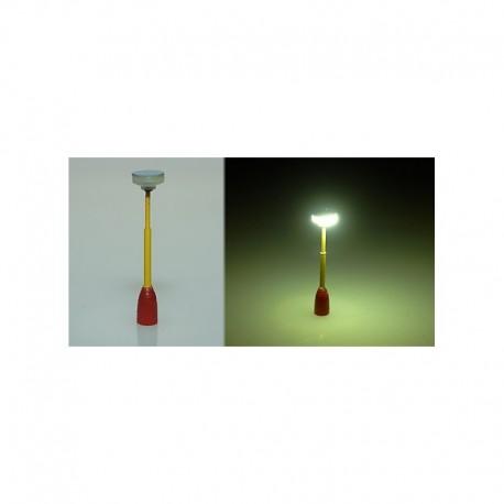 lampička parková HO (žlutá/červená)