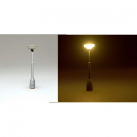 parková lampa TT ( šedá / šedá )